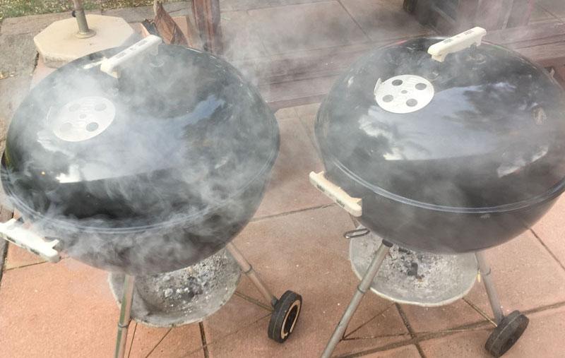 skiet n bok - how to hot-smoke venison