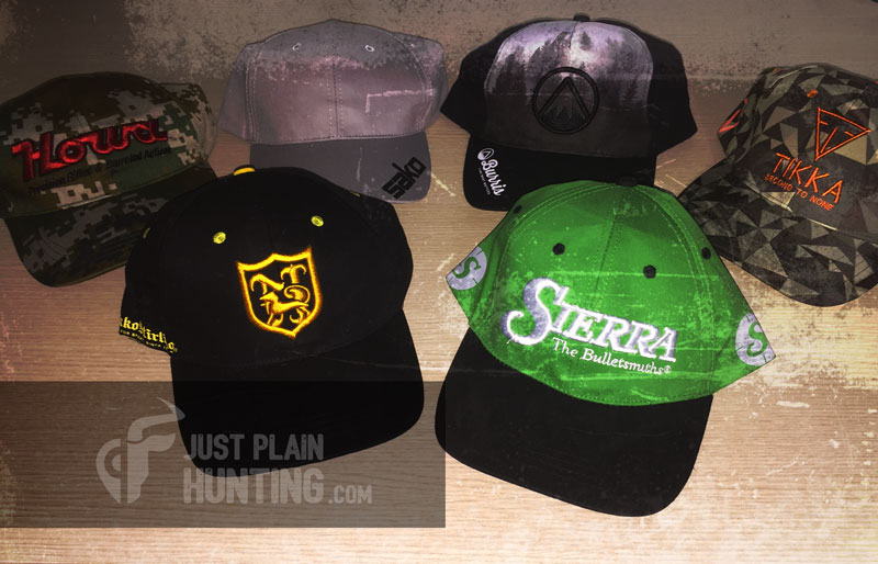 Just Plain Hunting Branded Caps Promo